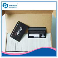 Wholesale Supermarket Magnetic Card , Double Sided Glossy Offset Plastic Card Printing from china suppliers