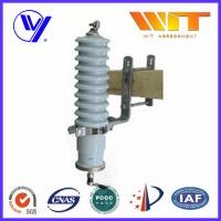 Electrical Metal Oxide Arrester 66KV Porcelain Ceramic without Gap