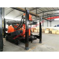 Quality full hydraulic 95kw engine crawler mounted 400m water well drilling machine for sale