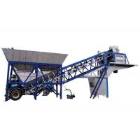 Wholesale Prestressed Central Mix Mobile Concrete Batch Mix Plant 25m3/H Wit High Efficiency from china suppliers