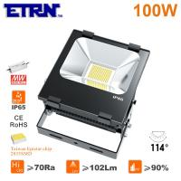 Wholesale ETRN Brand 2835 LED Meanwell Power Supply 100W LED Floodlights LED Outdoor Spotlights Cast from china suppliers