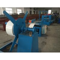 Wholesale 8000mm X 800mm X 800mm Door Frame Roll Forming Machine 5 Tons 4Kw Hydraulic Cutting from china suppliers