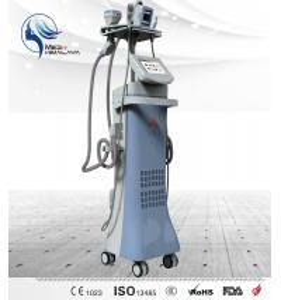 Wholesale 50 W Vertical Body Sculpting Machine , RF Ultrasonic Cavitation Machine from china suppliers
