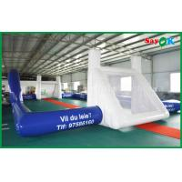Wholesale PVC Waterproof Football Shaped Inflatable Pool Field For Outdoor CE Standard from china suppliers