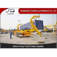 Wholesale 40ft Self Loading Container Trailer3 * 13 Tons Axles Mechanical Suspension from china suppliers