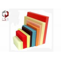 Wholesale Red Yellow Blue Foam Sheet Sponge Packing Material Customized from china suppliers