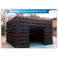 Wholesale 5m Black Outdoor Exhibition Booth the Big Cube Inflatable Venue for Advertisement from china suppliers