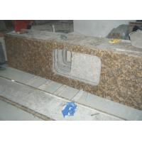 Baltic Gold Granite Stone Slab Countertop Solid Surface Vanity Tops For Bathroom
