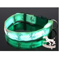 Cute dog LED collar, for medium and small size dog