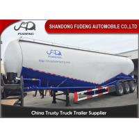 Wholesale High capacity 3 axle cement tank trailer power trailer for sale from china suppliers