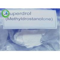 Wholesale Superdrol powder  Methyldrostanolone , Raw Masteron Steroids CAS 3381-88-2 from china suppliers
