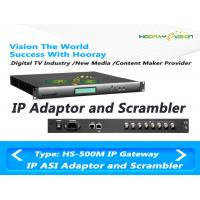 Wholesale DVB  Head - End CATV Scrambler Support 850Mbp Output Rate Real Time Statistics For TS from china suppliers