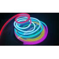 Quality dc12v 60led digital rgb flexible neon strip light for holiday decoration for sale