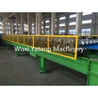 Wholesale Double Layer Tile Cold Roll Forming Machine 0 - 25 M / Min Speed Servo Tracking Hydraulic Cutting from china suppliers