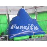 Wholesale Adults Inflatable Water Toys 0.9mm Thickness PVC Tarpaulin Inflatable Iceberg from china suppliers