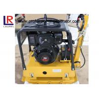 Wholesale Road Construction Gasoline Vibrating Plate Compactor with Hydraulic Control from china suppliers