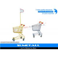 Wholesale Colorful Lightweight Supermarket Shopping Trolley Kids Shopping Cart With Wheels from china suppliers