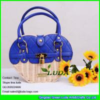 Wholesale LUDA 2016 liz lisa straw bag women wicker beach straw handbags from china suppliers