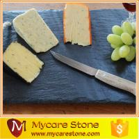 Wholesale slate cheese board ,black slate cheese board ,square slate cheese board from china suppliers