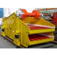 Wholesale High Frequency Vibrating Screen , Circular Vibratory Screeners 9.5MM Amplitude from china suppliers