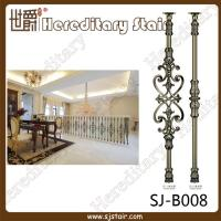 Quality Decorative Casting Aluminum Balustrade for House (SJ-B008) for sale