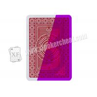 Wholesale Gambling Italian Modiano Platinum Poker Acetate Jumbo Plastic Marked Playing Cards from china suppliers