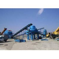 Wholesale Tri - Axle Chassis Crushing Screening Plant B1200×21M Belt Conveyor 250 - 300TPH from china suppliers