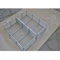 Buy cheap 304 316 316L Stainless Steel Metal Wire Basket With Polishing Food Grade from wholesalers