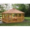 Buy cheap Pergola 3MX3M reclaimed wood furniture recycled wood furniture wpc wood pergola from wholesalers