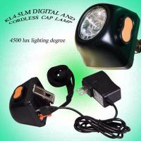 Wholesale Safe 3.7 V 1W LED Miners Cap Lamp Headlamp AC 220V 4.5Ah with IECE ATEX from china suppliers