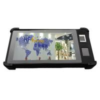 Quality HF-FP08 Touch Screen Waterproof Handheld Tablet PC with Fingerprint Reader for sale