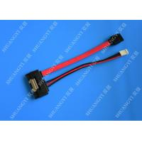 Wholesale Anti - Static Shielded SATA HDD Power Cable Male To Male Extension Lightweight from china suppliers