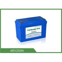 Wholesale 12.2KG Lithium Iron Phosphate Deep Cycle Battery Low Self - Discharge Rate 48V 25Ah from china suppliers