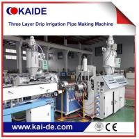 Buy cheap 3 layer drip irrigation pipe  extruder machine Supplier Cheap price from wholesalers