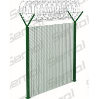 Buy cheap 358 Anti Climb Fence With Razor Wire Type from wholesalers