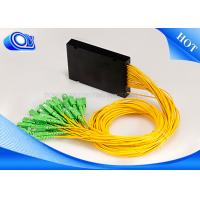 Wholesale Local Area Network Optical PLC Splitter PLC SC 1 X 32 Splitter With ABS Black Box from china suppliers