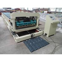 Wholesale Solid Steel Shaft Metrocopo Tile Roll Forming Machine with CE certificate from china suppliers