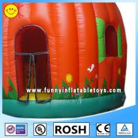 Wholesale Full Printing Lovely Inflatable Pumpkin Bouncer Blow Up Obstacle Course from china suppliers