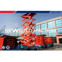Wholesale SJY Series 4 Wheels Mobile Hydraulic Lift Platform Aerial Work Platform from china suppliers