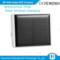 Wholesale hi-tech waterproof solar wireless charging gps tracker tag for person and pets animal from china suppliers