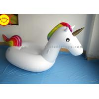 Wholesale Sunway Unicorn Inflatable Water Floats Giant 270cm PVC Animal Pool Floating Toys from china suppliers