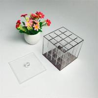 Wholesale clear acrylic makeup storage organizer box from china suppliers