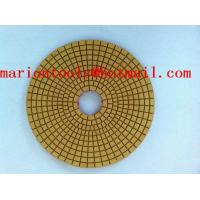 Quality diamond polishing pads for marble.granite and concrete for sale