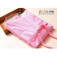 Wholesale Colorful Hotel Style Bathrobes For Women OEM / ODM Acceptable 700g from china suppliers