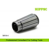 SK16 High Accuracy CNC Collet For Clamping Straight Shank Cutting Tools , ISO9001 listed