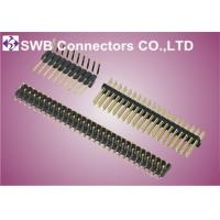 Wholesale 1.27mm Pitch Male Pin Header Connector 20 pin , Double Row Pin Header for office equipments from china suppliers