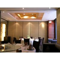 Buy cheap Sliding Door Profiles Aluminium Temporary Wall Banquet Hall Removable Sound Proof Partitions from wholesalers