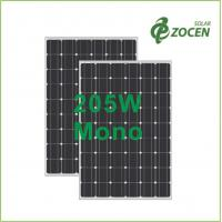 Wholesale Laminated 205W 36V Monocrystalline Solar Panels With Anti - Reflective Coating from china suppliers