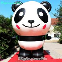 3m Height Inflatable Cute Panda for Zoo and Other Events Decoration