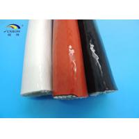 Wholesale 1650℃ High Temperature Flexible Braided Fiberglass Sleeving Flame Retardant from china suppliers
